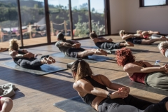 Yoga Class at Wild View Retreat