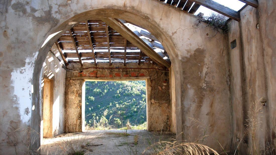 The barns before purchase at Wild View Retreat Corgas Bravas, Faro , Portugal