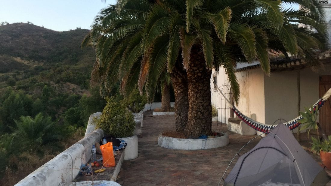 Camping at Corgas Bravas