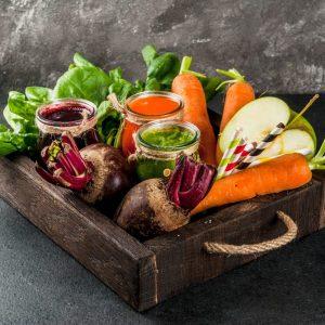 Juicing and Nutrition at Wild View Retreat Corgas Bravas