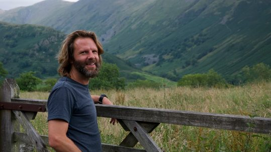 Andrew Finlay owner of Wild View Retreat Corgas Bravas